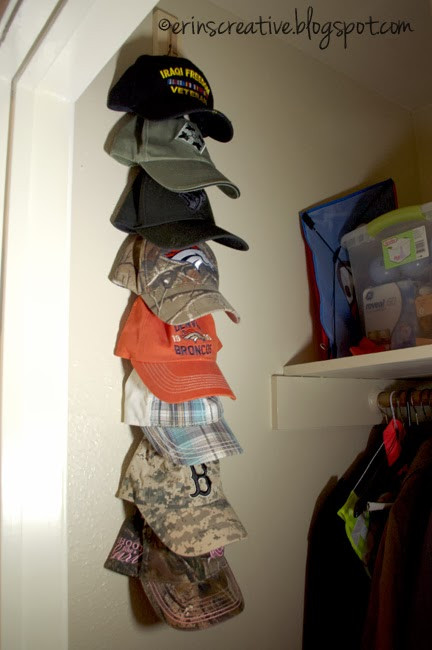 Best ideas about Hat Organizer DIY . Save or Pin Erin s Creative Energy DIY Hat Rack Now.