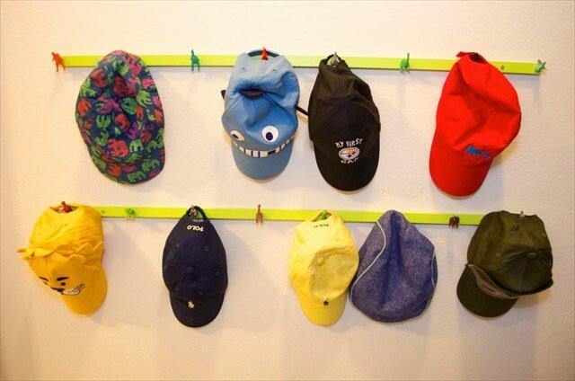 Best ideas about Hat Organizer DIY . Save or Pin 16 DIY Handmade Hat Rack Ideas Now.
