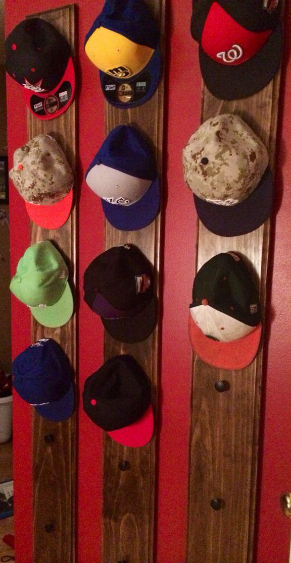 Best ideas about Hat Organizer DIY . Save or Pin Best 25 Baseball hat racks ideas on Pinterest Now.