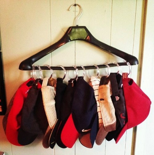 Best ideas about Hat Organizer DIY . Save or Pin baseball hat storage DIY for Life Now.