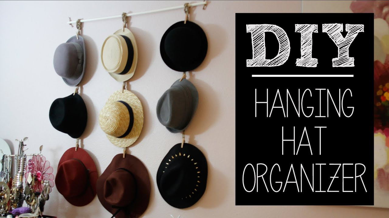 Best ideas about Hat Organizer DIY . Save or Pin DIY Hat Hanger Organizer Easy Now.