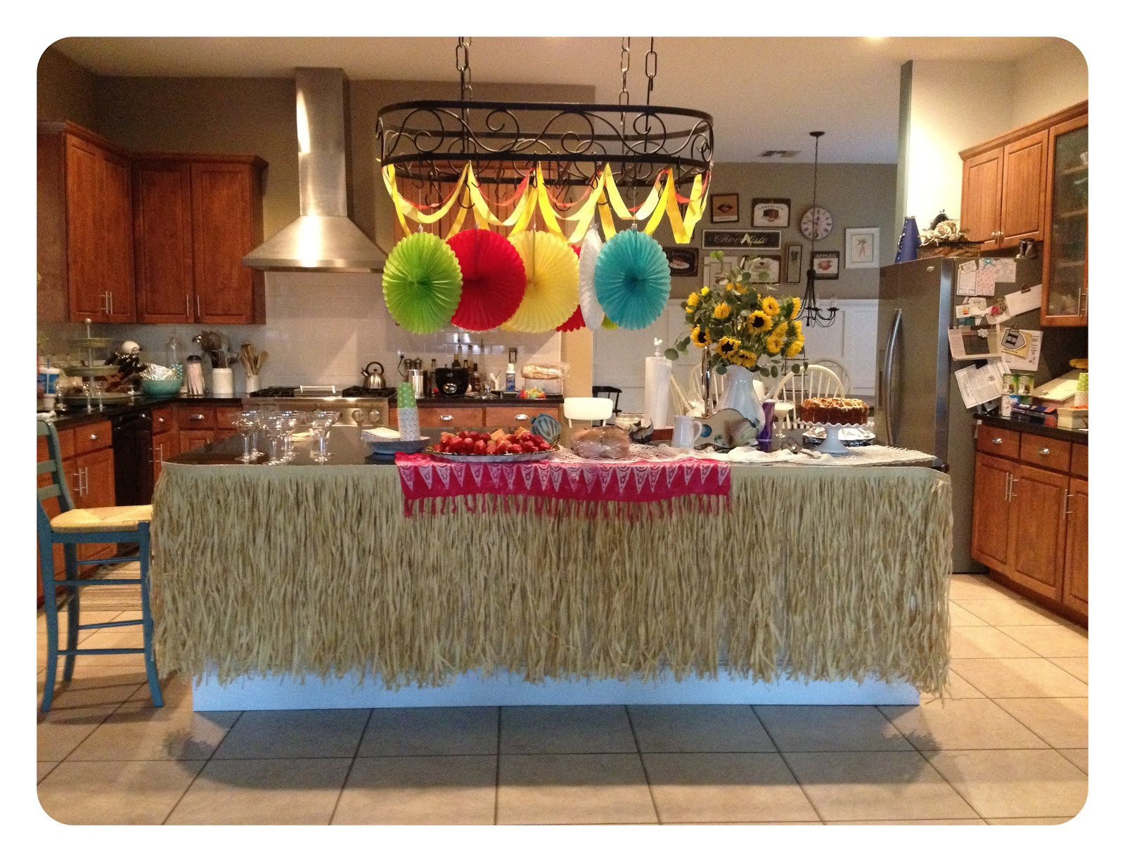 Best ideas about Hawaiian Birthday Decorations . Save or Pin Arizona Garden Girl Hawaiian Luau Birthday Party Now.