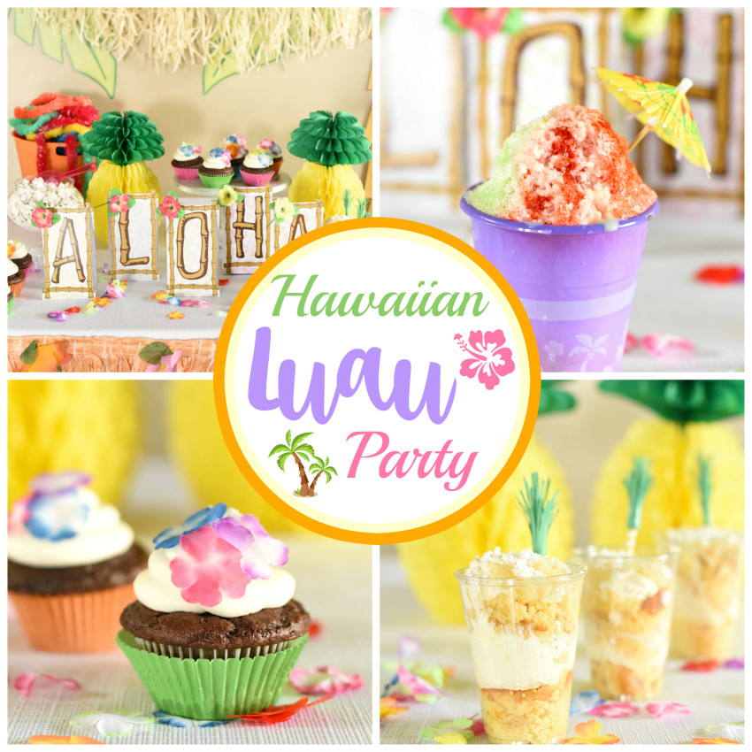 Best ideas about Hawaiian Birthday Decorations . Save or Pin Hawaiian Luau Party Ideas that are Easy and Fun Fun Squared Now.