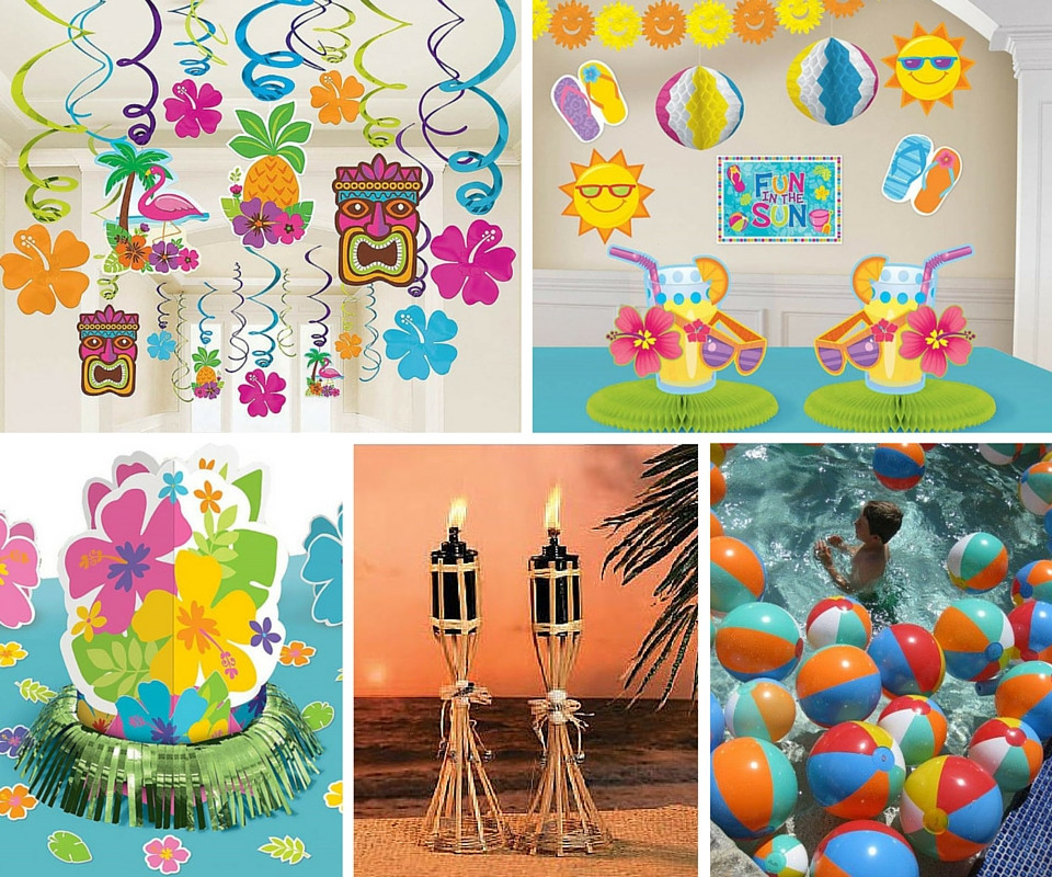 Best ideas about Hawaiian Birthday Decorations . Save or Pin Luau Party Ideas Now.