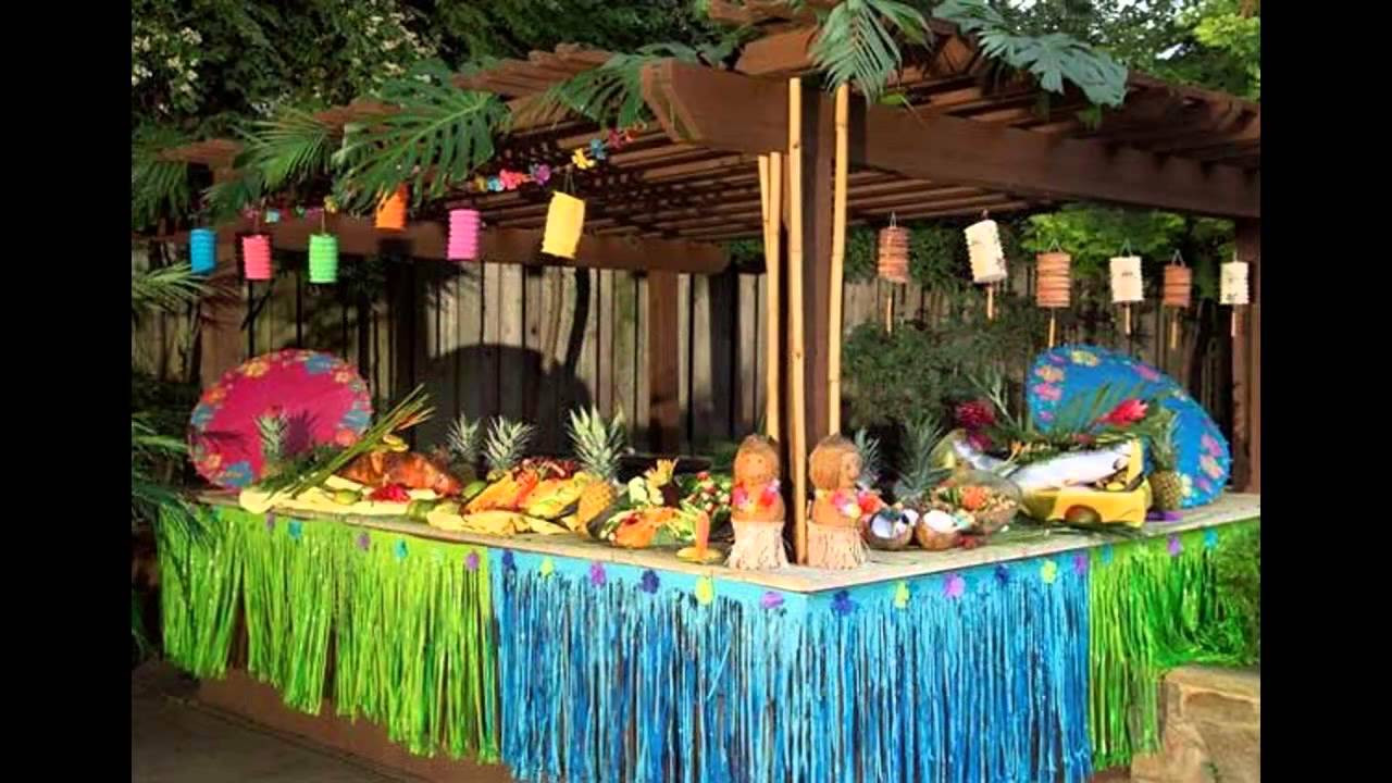 Best ideas about Hawaiian Birthday Decorations . Save or Pin Colorful Hawaiian party decorations Now.