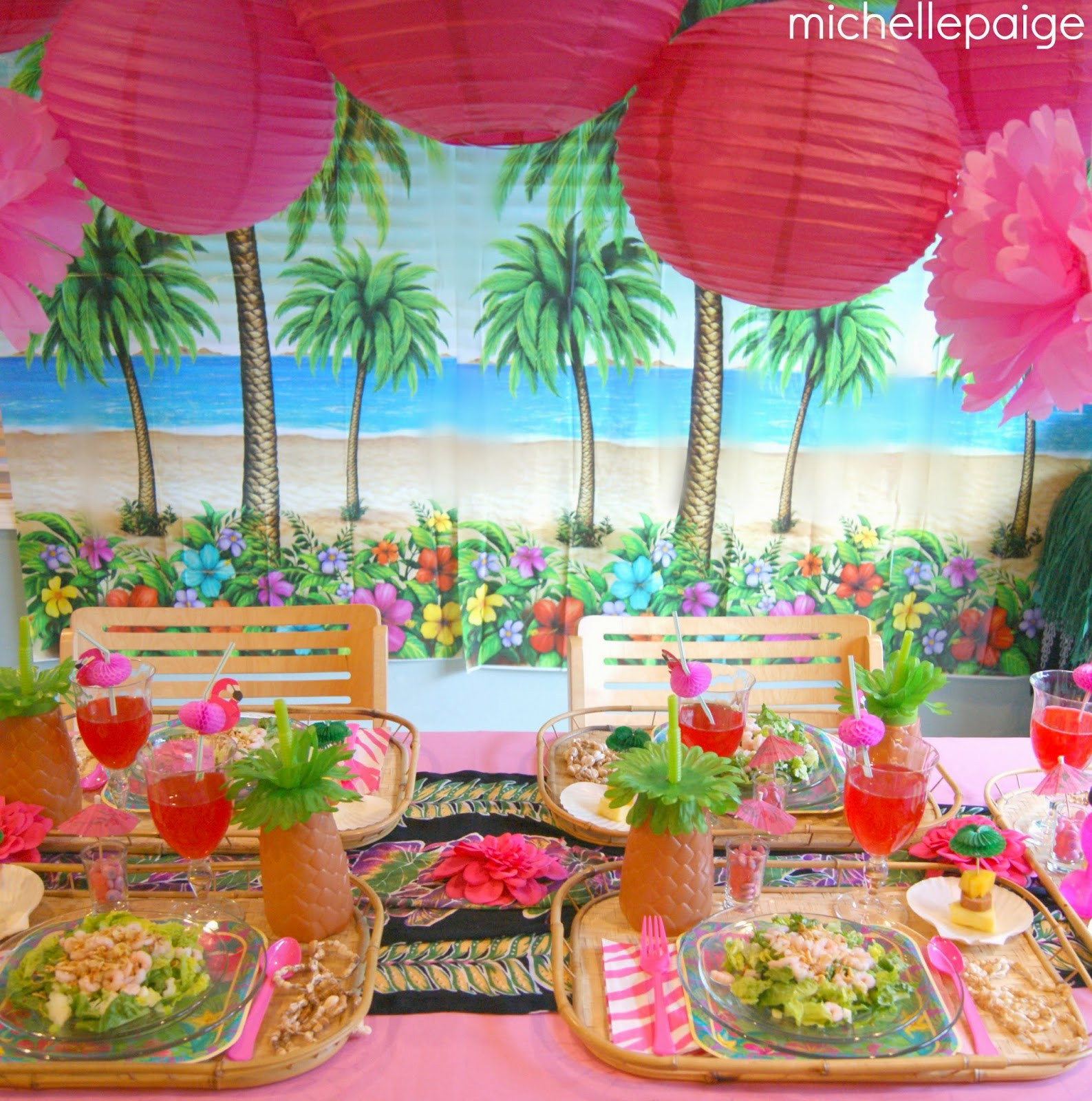 Best ideas about Hawaiian Birthday Decorations . Save or Pin michelle paige blogs Hawaiian Birthday Party Now.