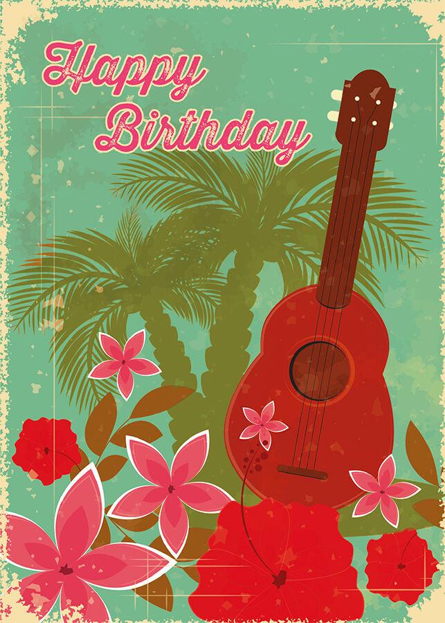 Best ideas about Hawaiian Birthday Wishes . Save or Pin 4 GREETING CARDS Hawaiian HAPPY BIRTHDAY Hawaiian Birthday Now.