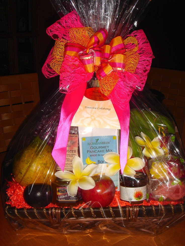Best ideas about Hawaiian Gift Ideas . Save or Pin 152 best HAWAIIAN GIFT BASKETS EXQUISITE BASKET Now.