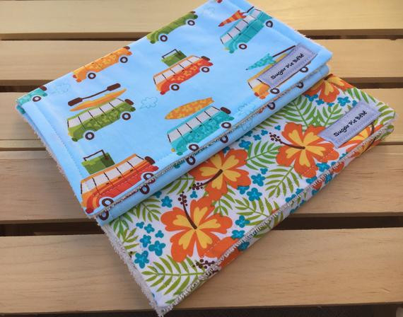 Best ideas about Hawaiian Gift Ideas . Save or Pin Baby Gift Ideas Burp Cloths Set Hawaiian Baby Gifts Baby Now.