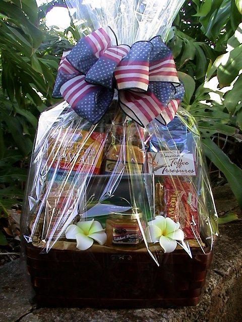Best ideas about Hawaiian Gift Ideas . Save or Pin Special Hawaiian t basket for Military clients Now.
