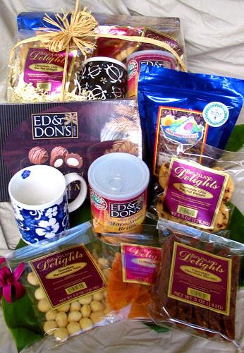 Best ideas about Hawaiian Gift Ideas . Save or Pin Big Kahuna Hawaiian Gift Basket With Our Aloha Now.