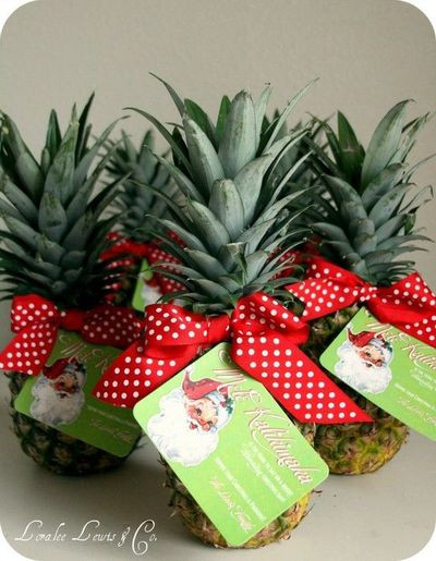 Best ideas about Hawaiian Gift Ideas . Save or Pin Hawaiian Christmas Gift Tag printable for the pineapple Now.