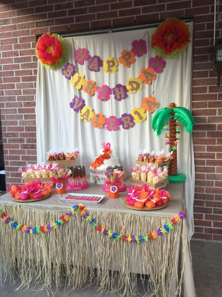 Best ideas about Hawaiian Themed Birthday Party . Save or Pin Luau Hawaiian Birthday Party Ideas in 2019 Now.