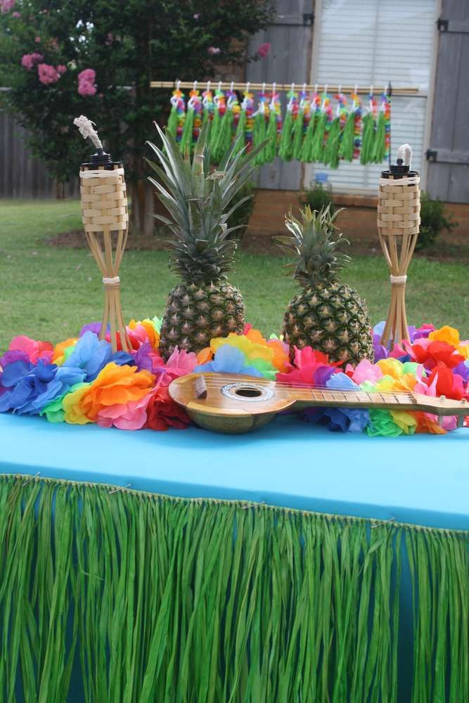Best ideas about Hawaiian Themed Birthday Party . Save or Pin Luau Birthday Party Ideas Now.