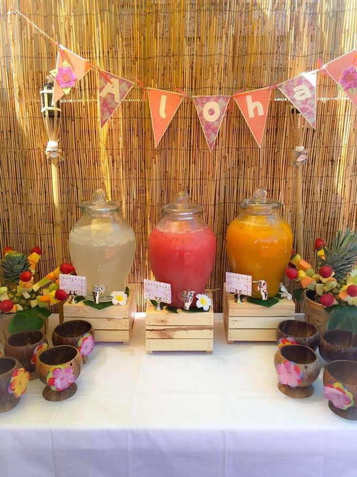 Best ideas about Hawaiian Themed Birthday Party . Save or Pin 64 best 50th Birthday Luau Party Ideas images on Pinterest Now.