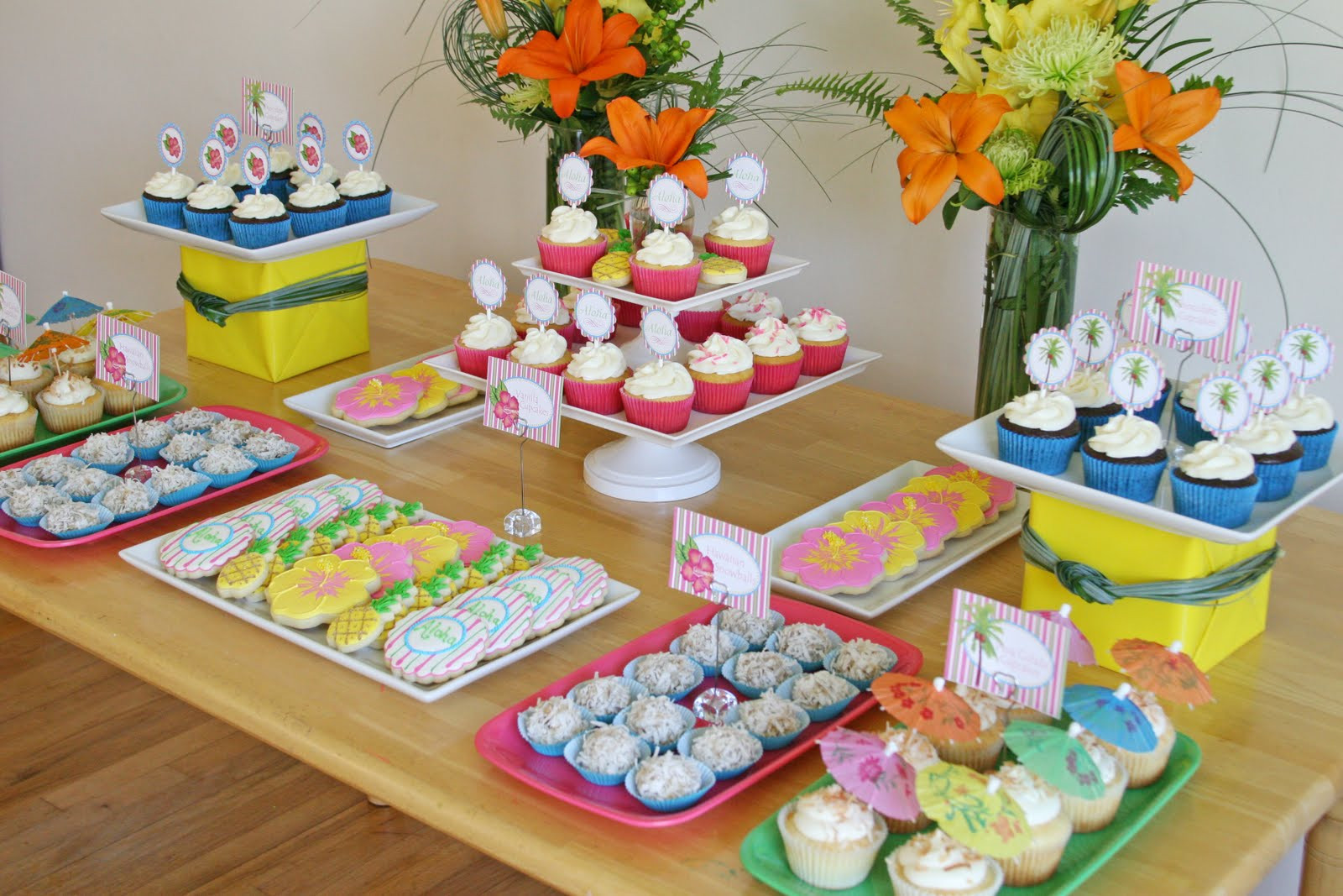 Best ideas about Hawaiian Themed Birthday Party . Save or Pin Parties The Lange Luau – Glorious Treats Now.