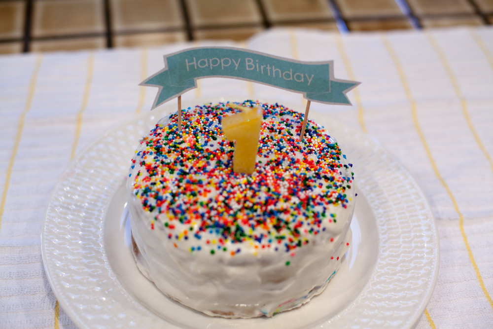 Best ideas about Healthy First Birthday Cake . Save or Pin Baby s First healthy & natural Birthday Cake — 9 Months Now.