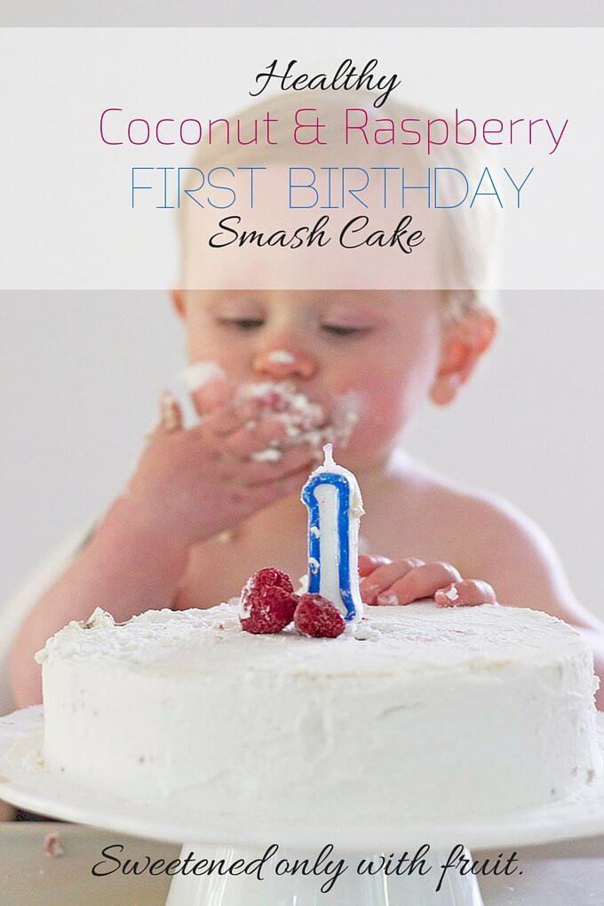 Best ideas about Healthy First Birthday Cake . Save or Pin Healthy First Birthday Cake A smash cake sweetened only Now.