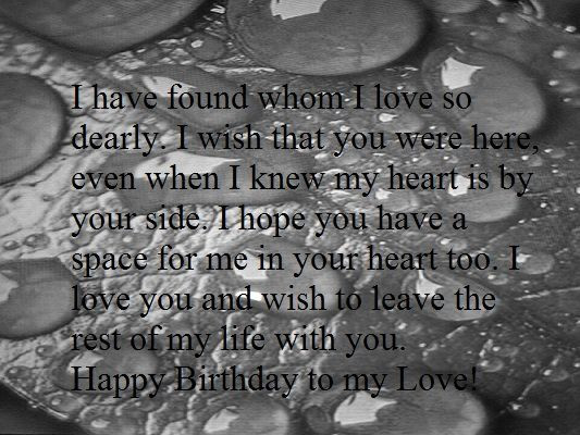 Best ideas about Heart Touching Birthday Wishes For Husband . Save or Pin Heart Touching Happy Birthday Wishes for Boyfriend Now.