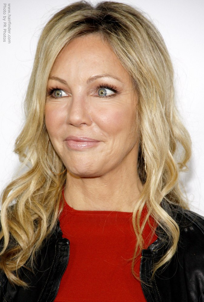 Best ideas about Heather Locklear Hairstyles . Save or Pin Heather Locklear s long layered hairstyle Now.