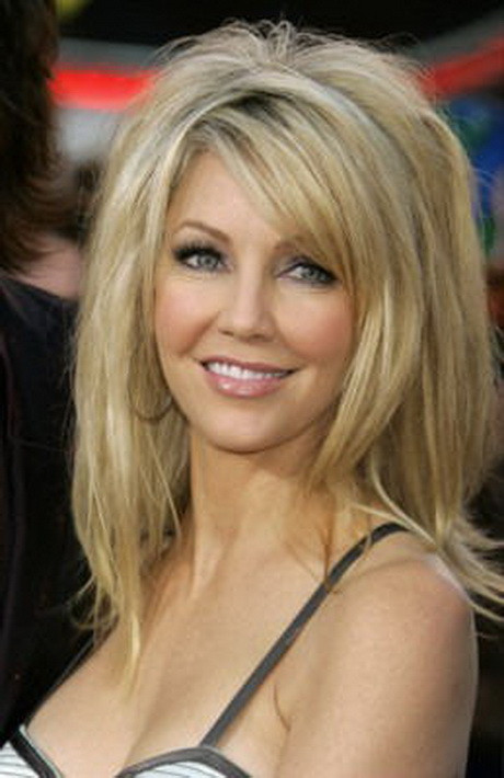 Best ideas about Heather Locklear Hairstyles . Save or Pin Long layered haircuts for women Now.