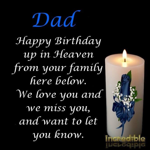 Best ideas about Heaven Birthday Wishes . Save or Pin Best happy birthday in heaven wishes for your loved ones Now.