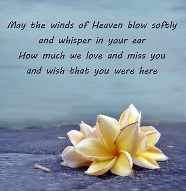 Best ideas about Heavenly Birthday Wishes . Save or Pin 172 PROFOUND Happy Birthday in Heaven Quotes & BayArt Now.