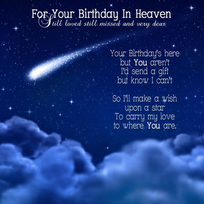 Best ideas about Heavenly Birthday Wishes . Save or Pin Your Birthday In Heaven Now.