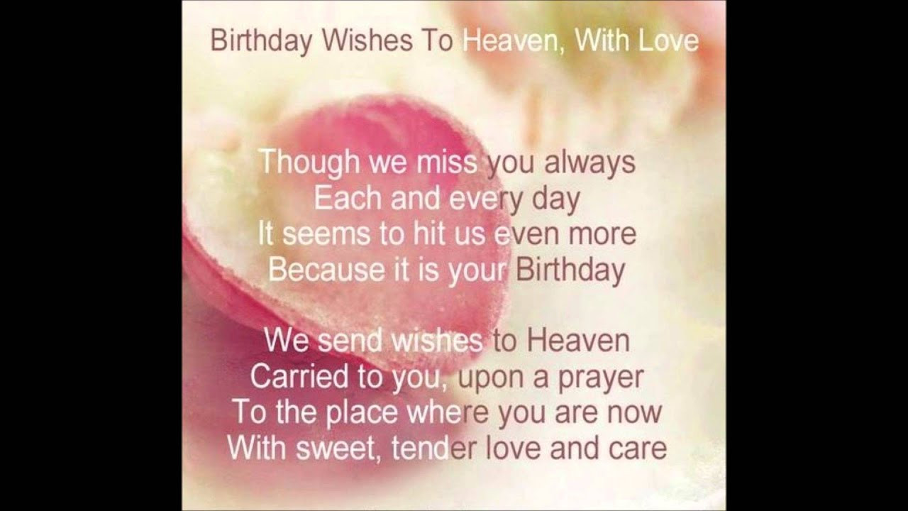 Best ideas about Heavenly Birthday Wishes . Save or Pin Heavenly Birthday Wishes to you Mom Now.