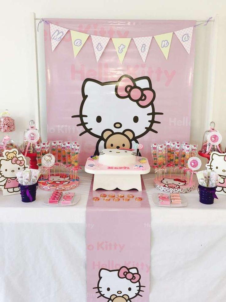 Best ideas about Hello Kitty Birthday Decorations . Save or Pin 250 best images about Hello Kitty Party Ideas on Pinterest Now.