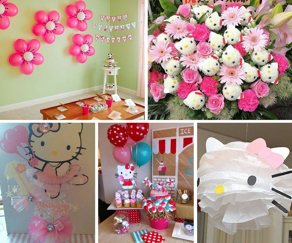 Best ideas about Hello Kitty Birthday Decorations . Save or Pin Hello Kitty Party Ideas Now.