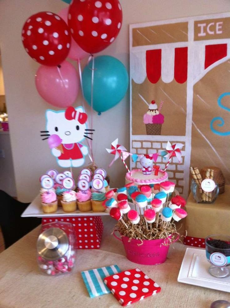 Best ideas about Hello Kitty Birthday Decorations . Save or Pin 60 best Party Ideas DIY Balloon Decorations images on Now.