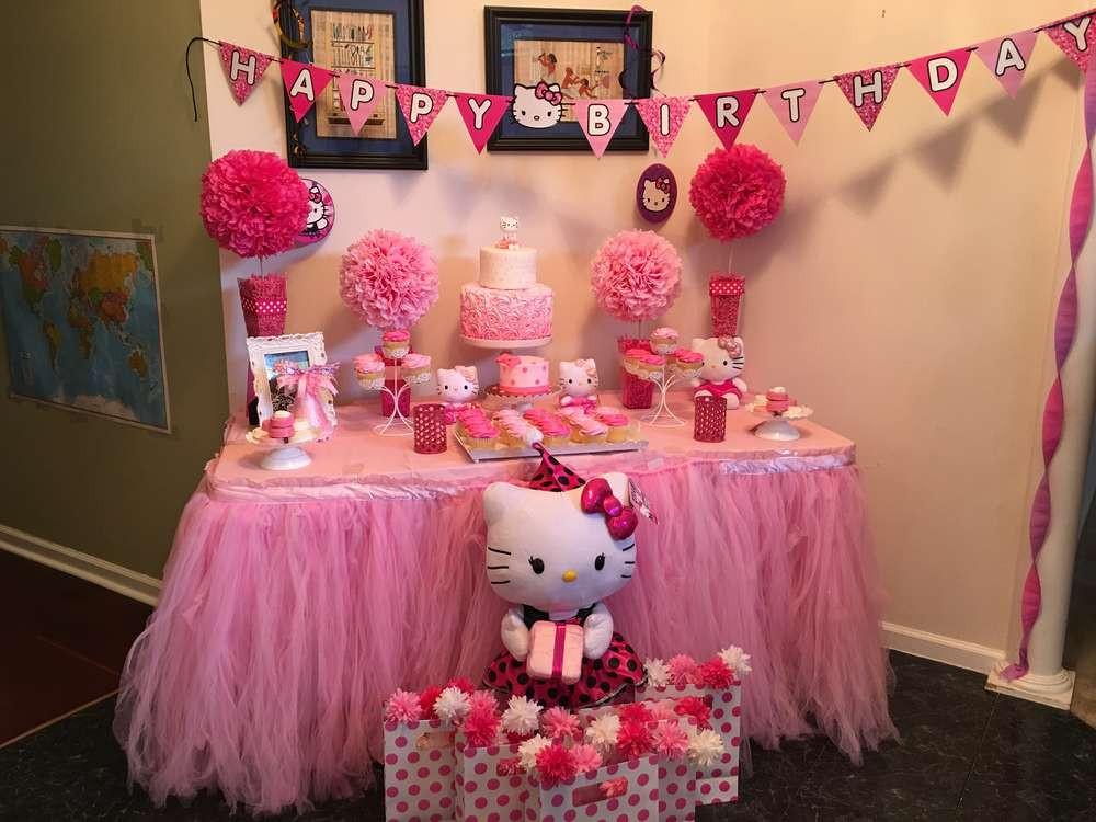 Best ideas about Hello Kitty Birthday Decorations . Save or Pin Hello Kitty Birthday Party Ideas 2 of 19 Now.