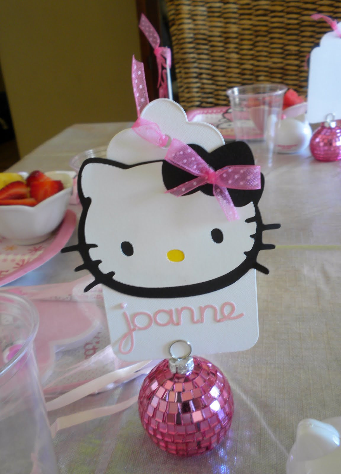 Best ideas about Hello Kitty Birthday Decorations . Save or Pin My little cottage in the making HELLO KITTY PARTY Now.