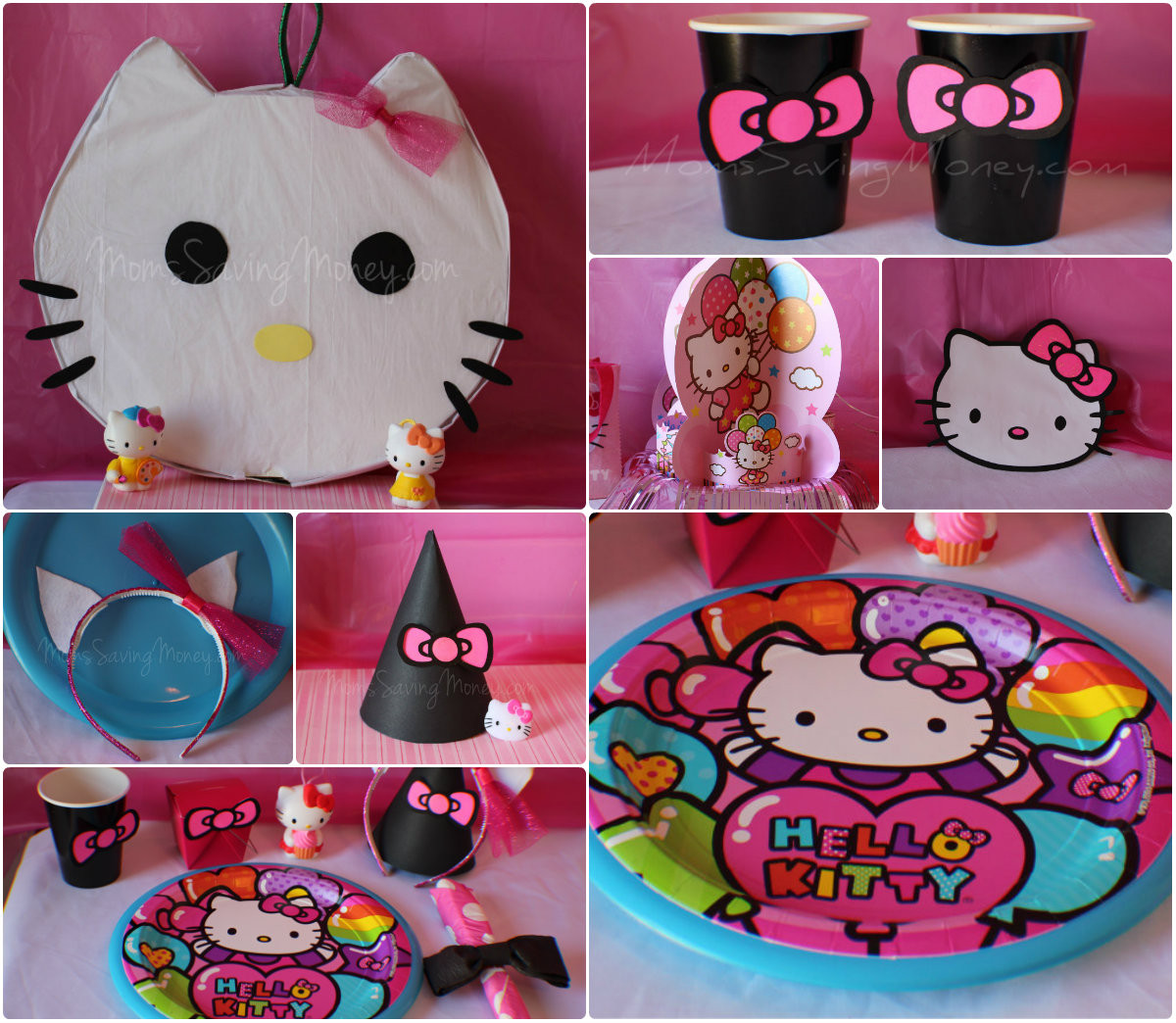 Best ideas about Hello Kitty Birthday Decorations . Save or Pin Hello Kitty Party Ideas Rebecca Autry Creations Now.