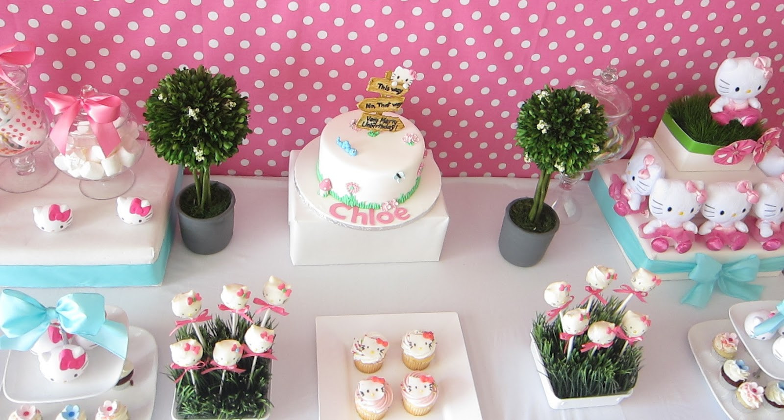 Best ideas about Hello Kitty Birthday Decorations . Save or Pin SimplyIced Party Details Hello Kitty Birthday Party Now.