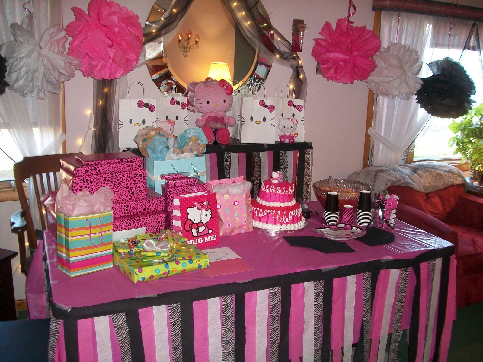 Best ideas about Hello Kitty Birthday Decorations . Save or Pin The Phoenix Spirit Now.