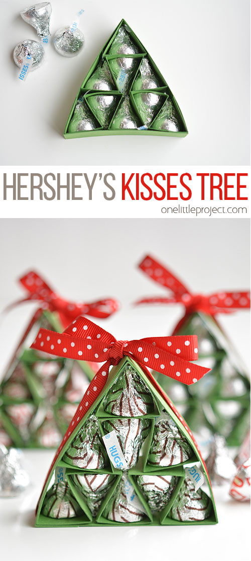 Best ideas about Hershey Kisses Gift Ideas . Save or Pin How to Make Hershey s Kisses Christmas Trees Now.