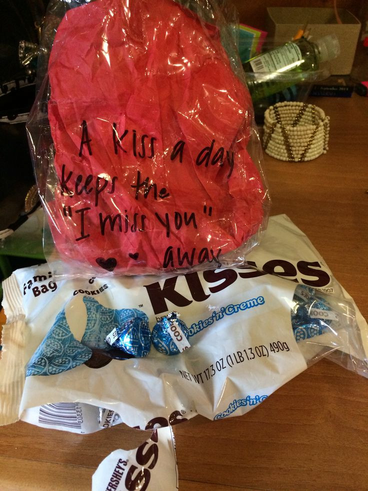 Best ideas about Hershey Kisses Gift Ideas . Save or Pin Gift Ideas for Boyfriend Hershey Kiss Gift Ideas For Now.