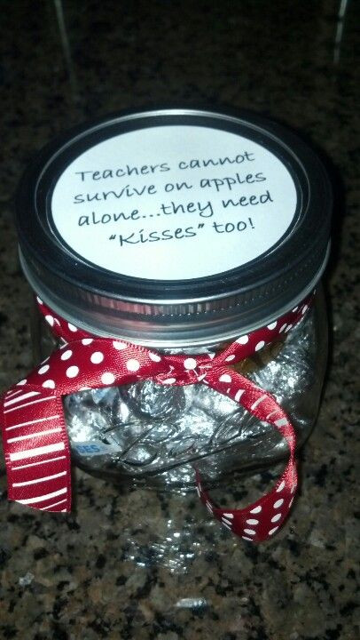 Best ideas about Hershey Kisses Gift Ideas . Save or Pin Teacher appreciation t idea Hershey Kisses in a small Now.