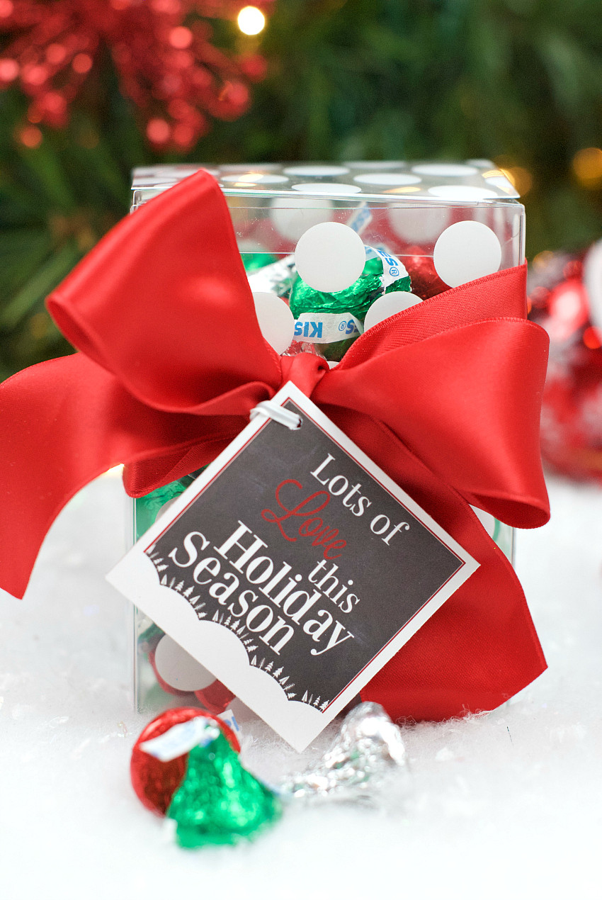 Best ideas about Hershey Kisses Gift Ideas . Save or Pin Chocolate Gift Ideas for Christmas – Fun Squared Now.