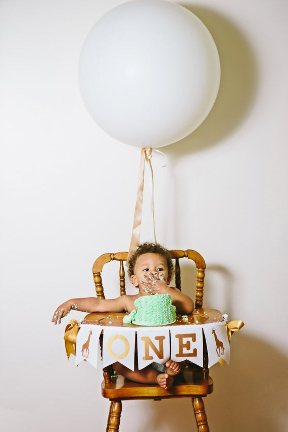 Best ideas about High Chair Decorations 1st Birthday Boy . Save or Pin FIRST BIRTHDAY BOY First birthday highchair banner e Now.
