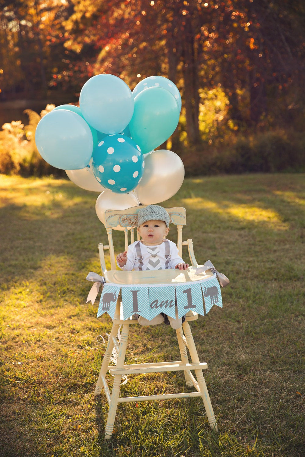 Best ideas about High Chair Decorations 1st Birthday Boy . Save or Pin 1st Birthday Boy I AM ONE Highchair Banner I am 1 High Now.