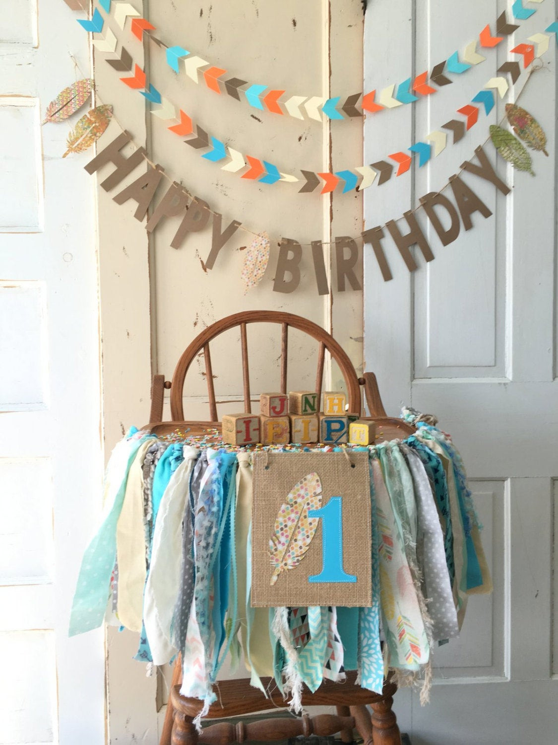 Best ideas about High Chair Decorations 1st Birthday Boy . Save or Pin First Birthday Boys High Chair Banner Boys High Chair Banner Now.