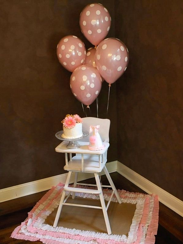 Best ideas about High Chair Decorations 1st Birthday Boy . Save or Pin First Girl Birthday Now.