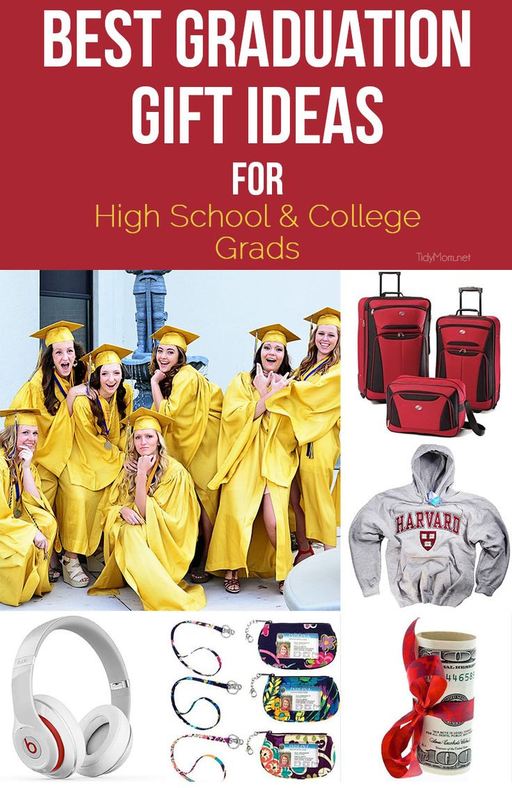 Best ideas about High School Graduation Gift Ideas . Save or Pin Top High School & College Graduation Gift Ideas to Give Now.