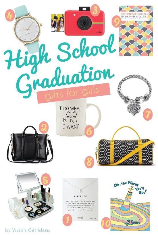 Best ideas about High School Graduation Gift Ideas For Girls . Save or Pin 2016 High School Graduation Gift Ideas for Girls Vivid s Now.