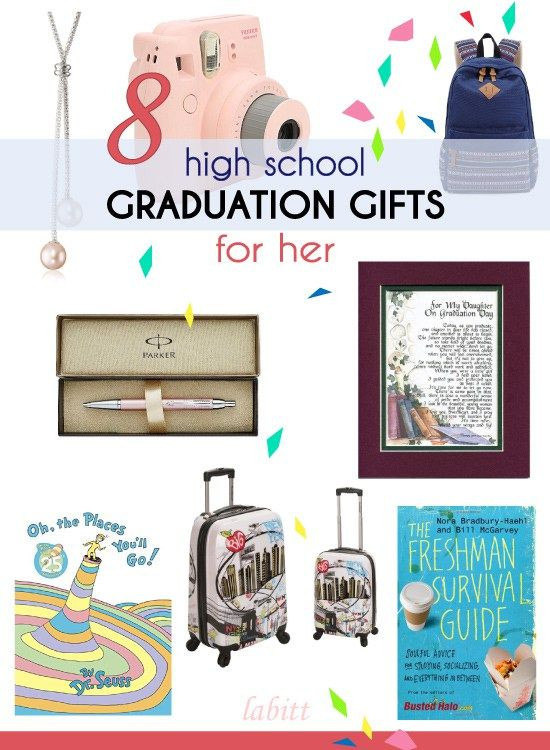 Best ideas about High School Graduation Gift Ideas For Girls . Save or Pin 15 High School Graduation Gift Ideas for Girls Now.