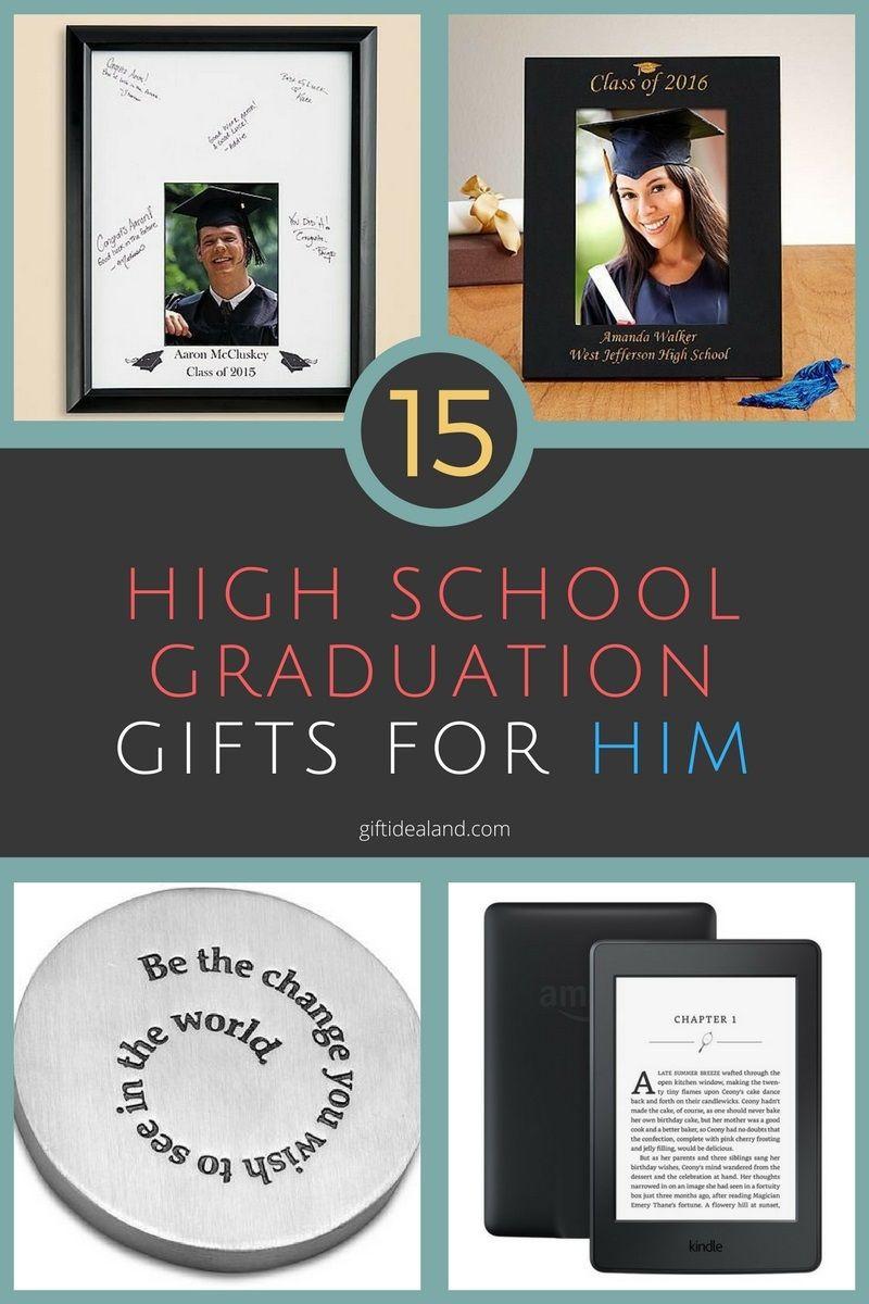 Best ideas about High School Graduation Gift Ideas For Him . Save or Pin 15 Great High School Graduation Gift Ideas For Him Now.