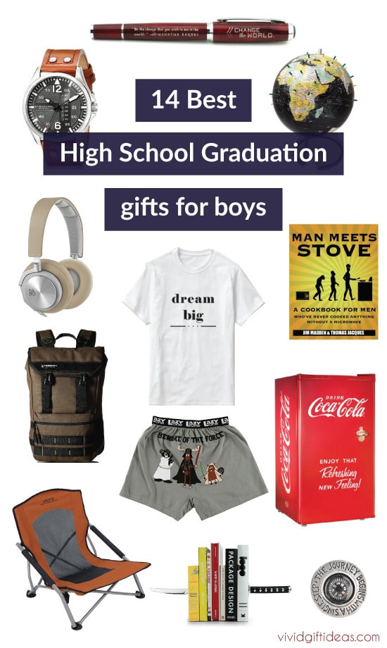 Best ideas about High School Graduation Gift Ideas For Him . Save or Pin 14 High School Graduation Gift Ideas for Boys Now.